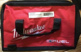 Genuine Water Resistant Milwaukee M18 Fuel Medium Tool Storage Bag Brand New! - $24.99