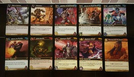 Set Lot of 10 World of Warcraft Trading Card Game WoWTCG Servants Betray... - $0.99