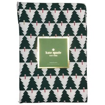 "Kate Spade Srpuce Street Green Evergreen Trees Tablecloth 70"" Round - $45.00"