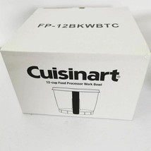 Cuisinart 12 cup Food Processor Work Bowl FP-12BKWBTC New Boxed Last One - $44.99