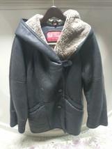 Walter Davoucci Women  Lambskin Leather Shearling Jacket Sz Medium Coat image 1