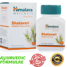 Himalaya Herbals Shatavari Women's Wellness Health Care 60 Tablets Shatavri - $8.99