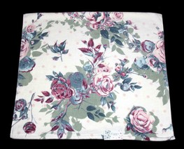 Gorgeous KASSAFINA Shabby Rose Bouquets Colorful Velour Decorative Bath ... - $19.99
