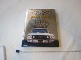Cars of the Sizzling '60's coffee Table hard cover book RARE collector 1... - $26.72