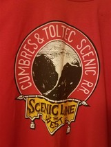 Vtg Cumbres & Toltec T-Shirt Mens XXL 2XL 50-52 Scenic Line of the West ... - $24.25