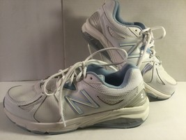 New Balance 857, Womens Size 10, White & Light Blue, Insole, Lightly Used - $39.45