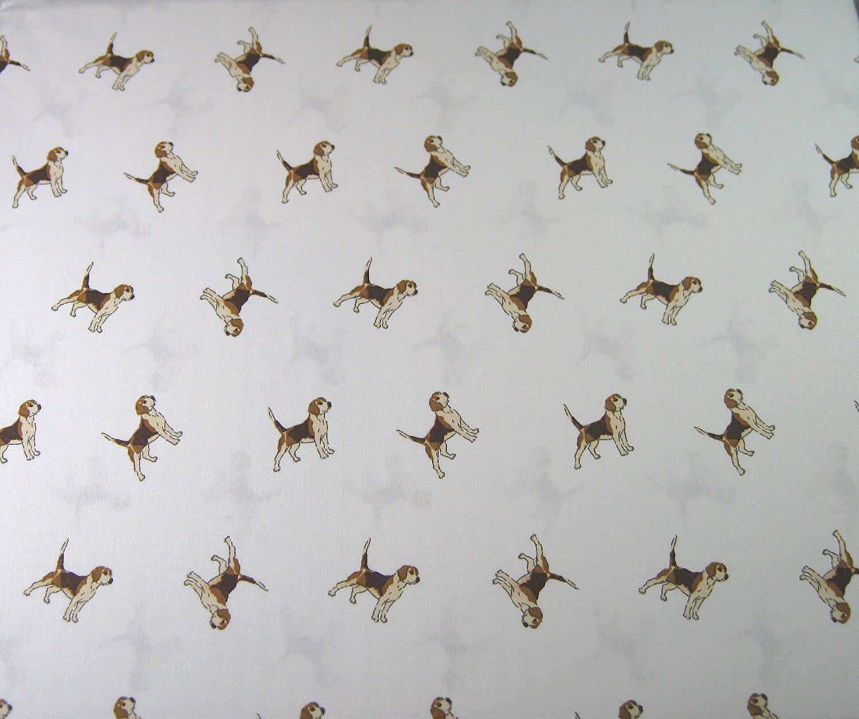 Ralph Lauren Beagles on White Sheet Set, Queen