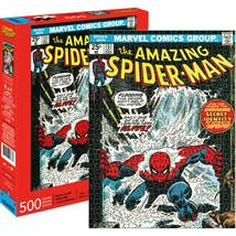 Marvel Spider-Man Comic Cover 500 Piece Puzzle Multi-color - $28.98