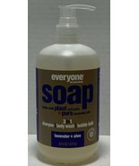 Everyone Soap - 3 In 1 - Lavender - Aloe - 16 Fl Oz New Shampoo Body Was... - $21.13