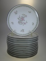 Noritake Jardine Appetizer, Hors d'oeuvres, or Dessert Plates Set of 13 - $42.97