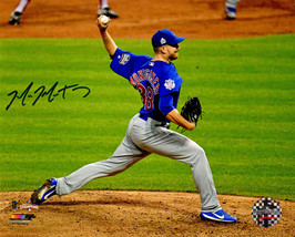 MIKE MONTGOMERY Signed Cubs 2016 World Series Game 7 Final Pitch 8x10 Ph... - $64.35