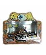 Jada Toys Von Dutch Cruel World Orange 1:18 Scale Die Cast Custom Motorc... - $20.78