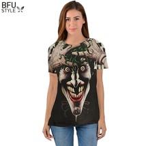 Batman Joker DC Comics Superhero 3D Print T-Shirt Women Men Summer Style T Shir - $23.81