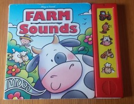 Farm Sounds Play-a-sound Book - $2.85