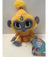 "Nickelodeon Shimmer and Shine Tala Plush 6"" Monkey Yellow Purple New Stu... - $9.99"