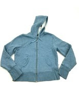 Champion Full Zip Hoodie Sweater Jacket Women's Size Small Baby Blue Swe... - $18.83