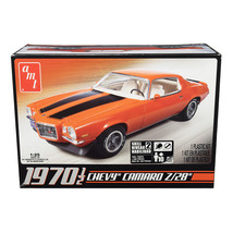 Skill 2 Model Kit 1970 1/2 Chevrolet Camaro Z/28 1/25 Scale Model by AMT... - $36.79