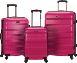 Rockland Melbourne 3 Piece Luggage Set $480 - NEW - FREE SHIPPING - in M... - $184.09