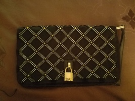 Black and Gold Marc Jacobs clutch - $150.00