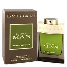 Bvlgari Man Wood Essence 3.4 Oz Eau De Parfum Cologne Spray image 6