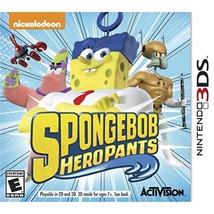 Spongebob Hero Pants The Game 2015 - Nintendo 3DS - $41.78