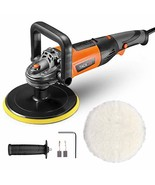 Polisher, TACKLIFE 7-inch Buffer Polisher, 6 Variable Speeds from 1500~3... - $54.99
