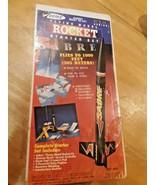 VINTAGE ESTES SABRE FLYING MODEL ROCKET STARTER SET MODEL KIT IN BOX Sea... - $48.50