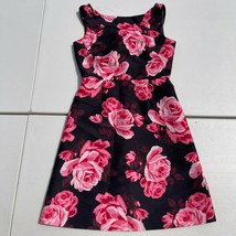 NEW Kate Spade Floral Rosa Rambling Roses A-Line Dress $348 Size 0 Pink ... - $84.14