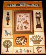 Charted Needlework Designs  Leisure Arts # 49 (1975) - $3.73