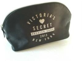 Victoria's Secret Fashion Show 2013 New York Black Cosmetic Makeup Bag - $9.49