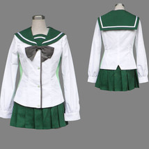 High School of the Dead HOTD Rei Miyamoto Halloween cosplay costume - $58.69
