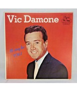 VIC DAMONE-I'LL SING FOR YOU-1961-HI END COLLECTORS VOCAL LPS SUPERB COV... - $20.00