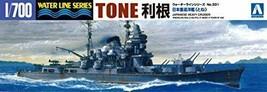 "Aoshima 1/700 Water Line ser. IJN Heavy cruiser""Tone""331 - $41.49"