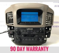 99-03 Lexus RX300 Display Screen Radio Stereo Climate, 86110-48030 TO961C - $140.25