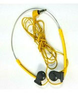 Sony Sports Dynamic Stereo Headphones MDR-W10 Yellow Gray - $24.18