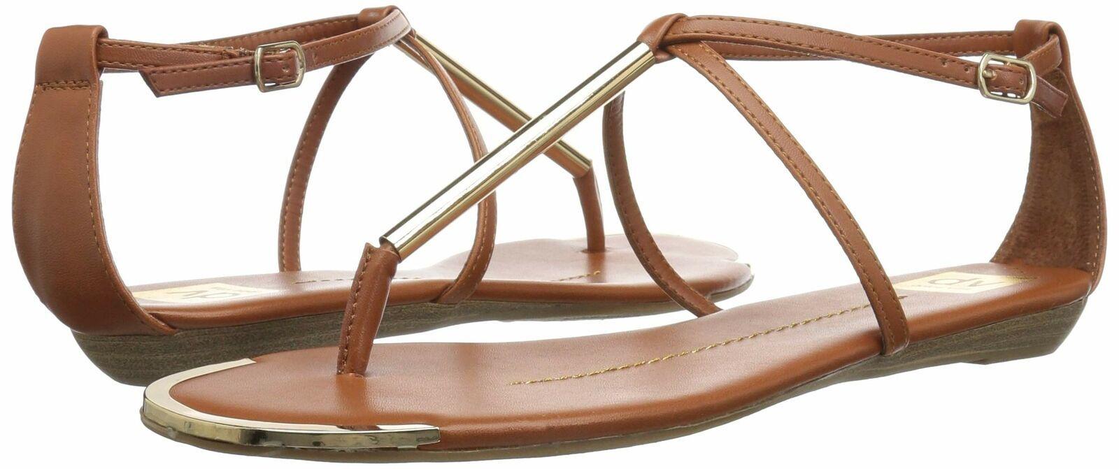 DV by Dolce Vita Women's Archer Thong Sandal 11 Cognac Stella image 7