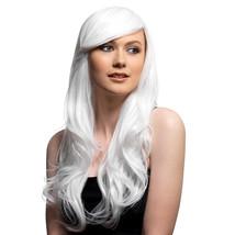 Halloween Long White Wavy Wig Costume Dress Up Cosplay - NEW - $14.94