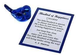 Ganz Bluebird of Happiness Pocket Charm with Story Card,One Size - $4.31