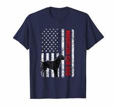 Dog Fashion - FUNNY Flag Mountain CUR Dog Shirt USA Patriotic T-Shirt gift Men - $19.95+