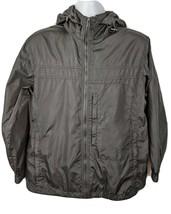 Eddie Bauer Waterproof Black Jacket Mens Size M - $44.54