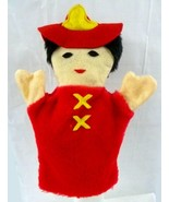 Firefighter Fireman Hand Sheram Puppet Inc Helmet Children Pretend Play New - $12.58