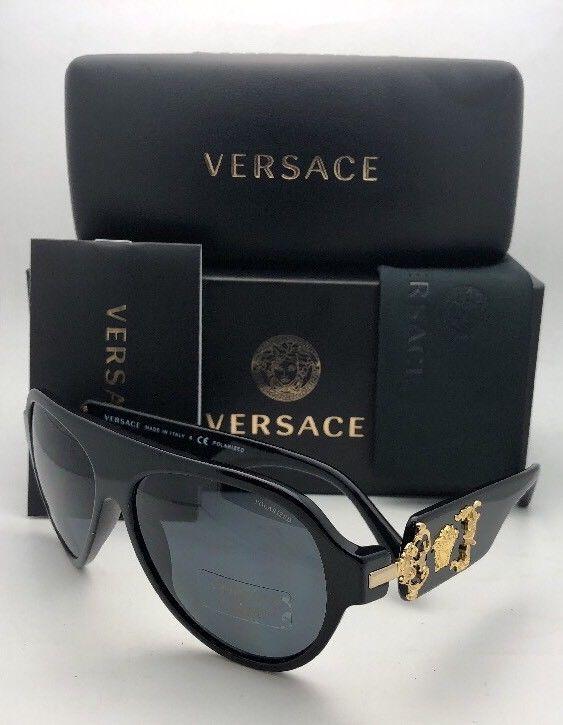 e7e10a455a Polarized VERSACE Sunglasses VE 4323 GB1 81 and 39 similar items. S l1600