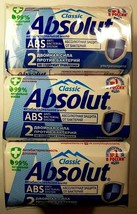 Soap 540g,ABSOLUT (Absolute),set of 6pcs. x 90 g,Ultra protection,antiba... - $37.40