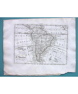 1771 ORIGINAL MAP - South America - $40.46