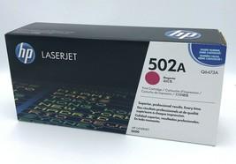 HP Laserjet 502A Magenta Toner Cartridge Q6473A Sealed Genuine HP3600 - $24.99