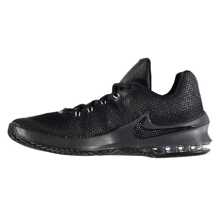 new arrival 5ea26 98992 Nike Men s Air Max Infuriate Low Basketball Shoes Black 852457 001 Size 9.5  New