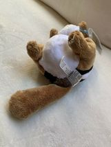 "Ganz Webkinz 9"" Chimpmunk Plush stuffed toy HM217. B2 Used nice Kids Doll Toy image 6"