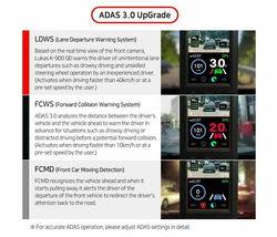 Lukas K-900 QD 2Ch QHD/FHD 3.5In 32Gb ADAS 3.0 GPS Sony Exmor R STARVIS / FedEx image 9