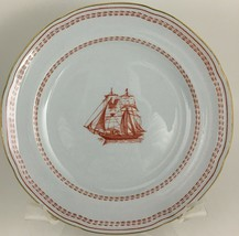 Spode Trade Winds Red Bread & butter plate  - $15.00