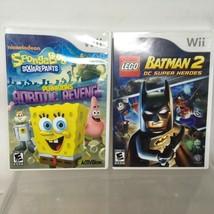 SpongeBob SquarePants: Plankton's Robotic Revenge + Lego Batman 2 DC Super Heroe - $23.75